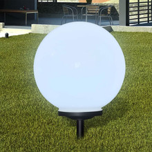 Solar Powered LED Round Bubble Ball Light Waterproof IP55 Energy Saving Home Decor Lamp Lighting For Garden Outdoor Courtyard