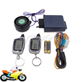 Universal Motorcycle Bike Scooter Alarm Anti-theft Protection Anti-hijacking Security System LCD Display Remote Engine Start