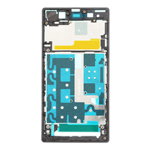 for Sony Xperia Z1 L39h New Original Bezel Frame Front Housing Frame Bezel Plate for Sony Xperia Z1 L39h C6903 Free Shipping