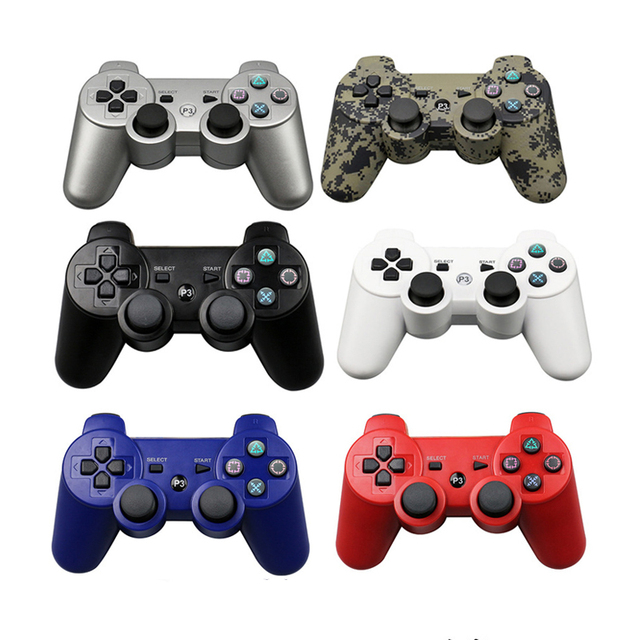 EastVita Wireless Bluetooth Gamepad For PS3 Pro Controller dualshock game Joystick For Playstation 3 console 7 color Gamepad New