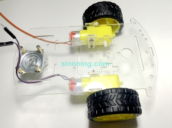 Smart Robot Car Acrylic Chassis Kit 2WD Universal wheel For Arduino+L298n Тахеометр