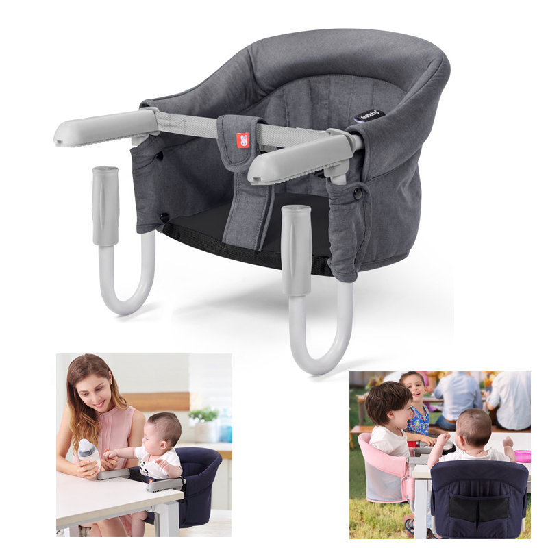Portable Children's Travel Dining Chair Baby Eating Chair Multi-function Folding Table Kids Dining Chair Baby Booster Seats