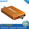 Golden Mobile Phone Signal Booster Repetidor de celular PCS 1900 MHz Signal Repeater Cell Phone Signal Amplifier
