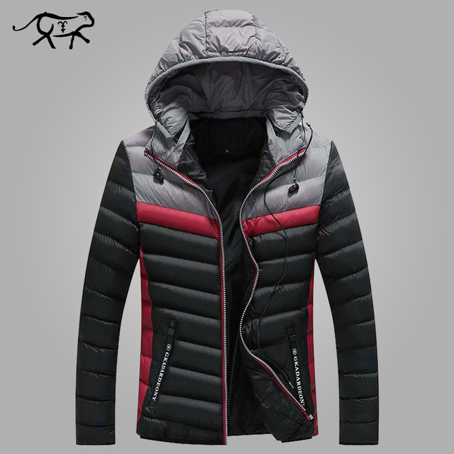 Best Price New Arrival Winter Jacket Men Warm Cotton Padded Coat Mens Casual Hooded Jackets Handsome Thicking Parka Plus size Slim Coats