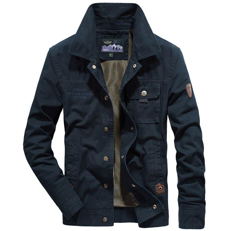 2019 Nouveau hommes militaire veste homme marque armée veste plus la taille 4XL AFS JEEP hommes veste jaqueta masculina automne bomber veste