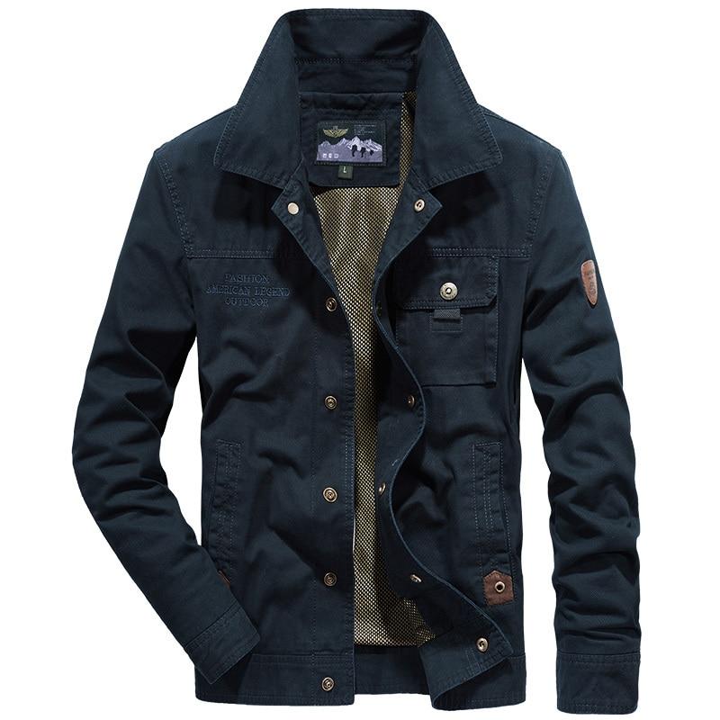 2019 nowych mężczyzna wojskowy veste homme marki armii kurtka plus rozmiar 4XL AFS JEEP mężczyźni kurtka jaqueta masculina jesień bomber kurtka w Kurtki od Odzież męska na  Grupa 1