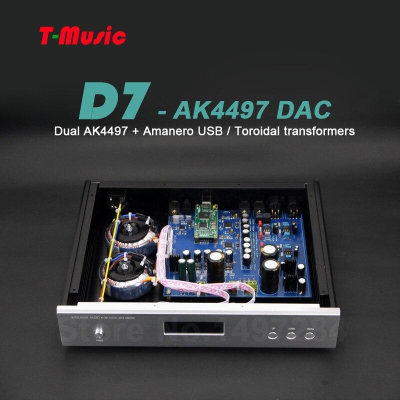 Besser Als Es9038 Es9038pro Dac Hitze Und Durst Lindern. Unterhaltungselektronik Tragbares Audio & Video WohltäTig High-end Dual Ak4497 Dac Decoder W/2x Ringkerntransformator Unterstützung Xmos/amanero I2s Dsd