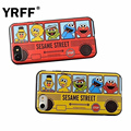 Cute Bus style Cartoon pineapple Duck Cookie Elmo Soft TPU Back Covers for IPhone 6 7 7plus 6s 6 Plus Silicone Phone Case