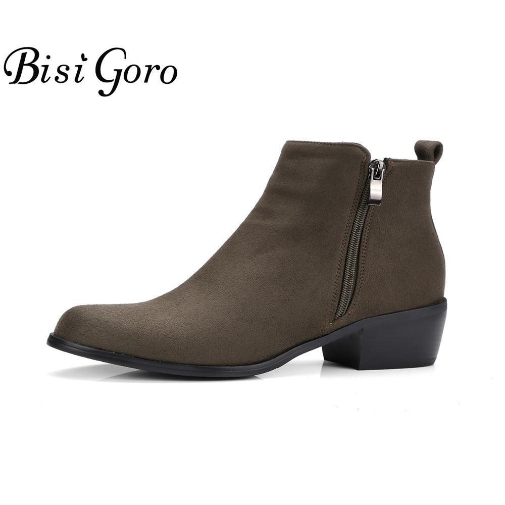 gris cheville bottes-achetez des lots à petit prix gris cheville
