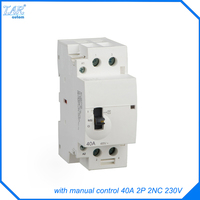 New energy vehicle charging equipment alternative relay module using charge pile contactor 40A 2P 2NC 230V