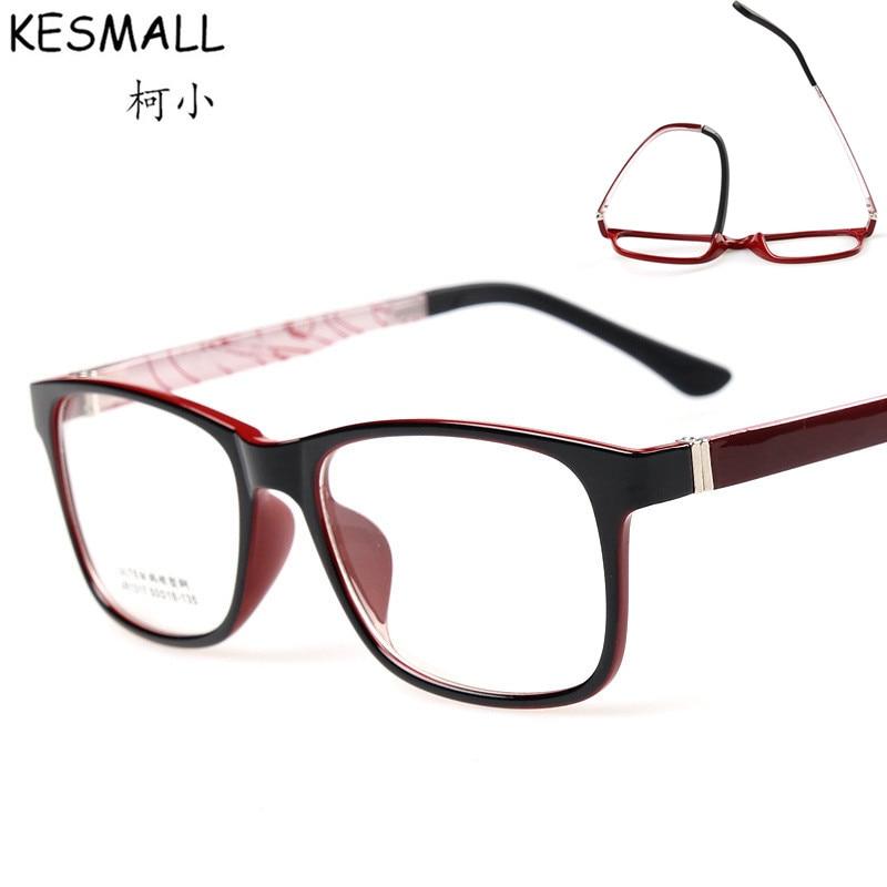 Optical Light Glasses Frame Women Fashion Eyewear Mens Gaming Eyeglasses Frames Fit For Clear Lens Retro Oculos De Grau YJ166