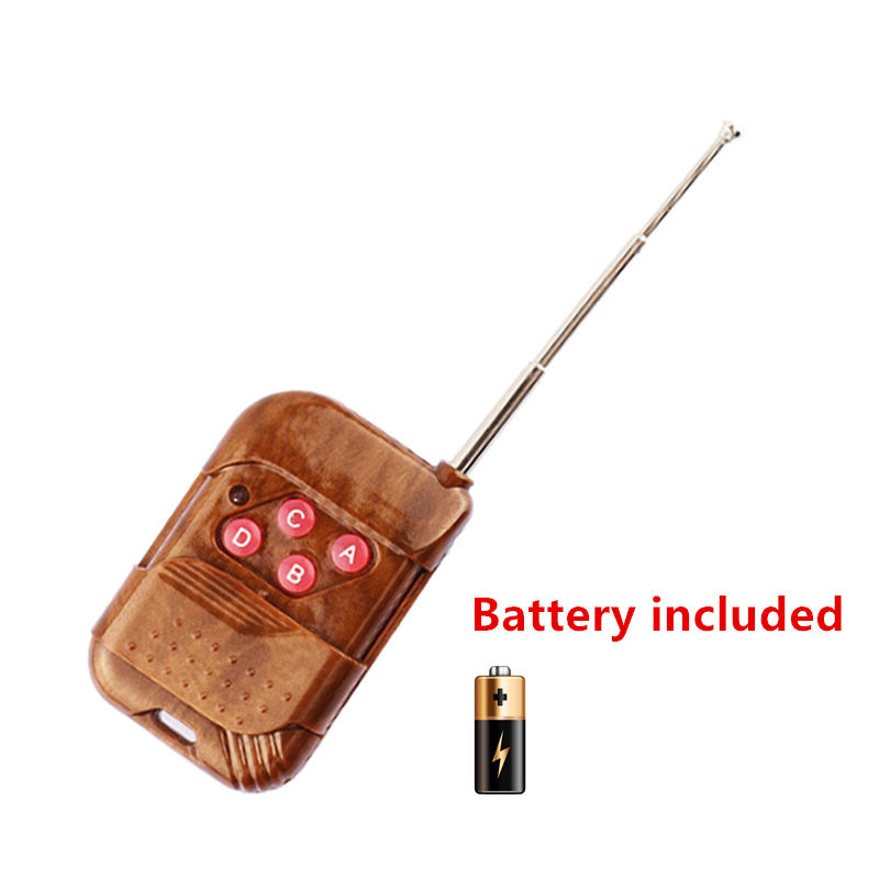 Wireless 433 MHz RF 4 CH Remote Control Transmitter Learning Code 1527 for Garage Electric Clone Door Smart Copy Remote Control