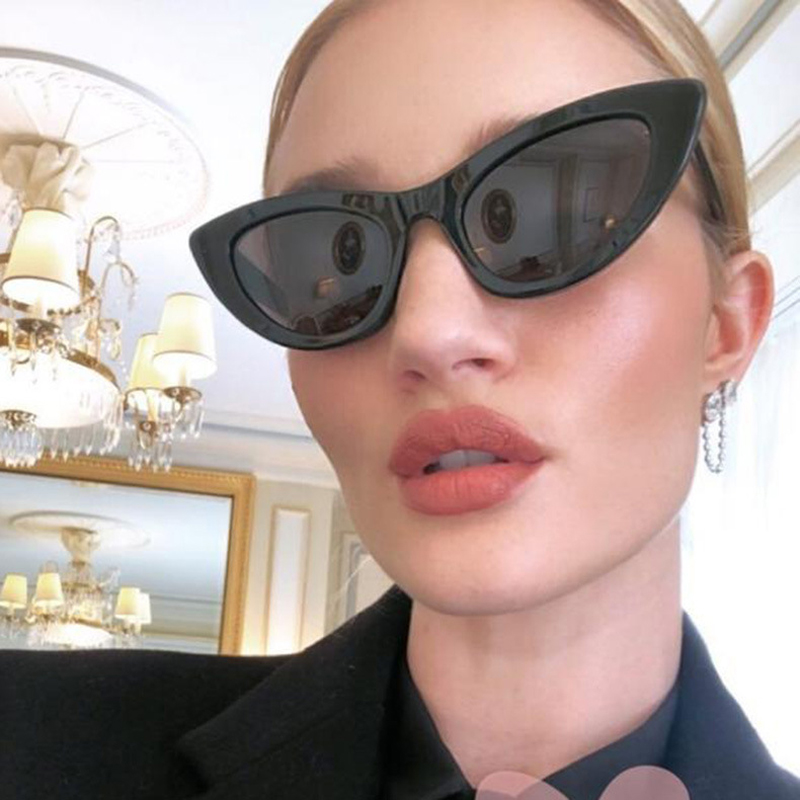 c564307872a8c DIGUYAO 2018 New Fashion Cute Sexy Ladies Cat Eye Sunglasses Women Vintage  Brand Small Sun Glasses Female Oculos de sol UV400