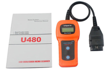Wholesale High Quality U480 OBD2 OBDII CAN BUS Code Reader Engine Scanner Automotive Diagnostic Scanner Tool