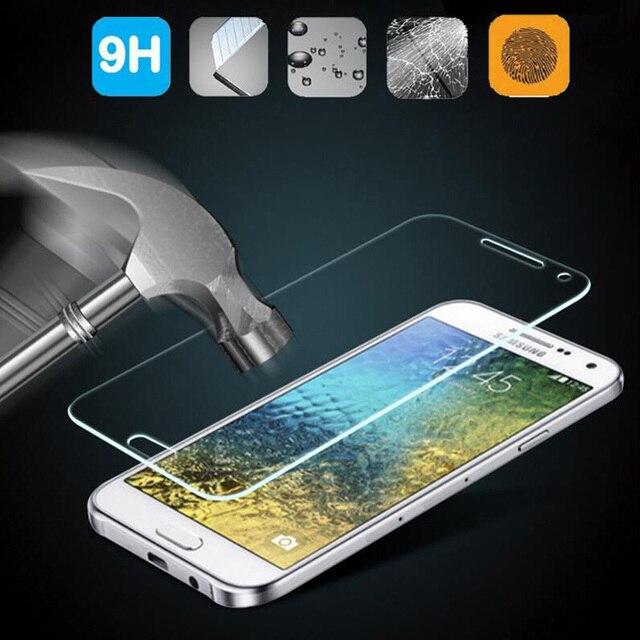 GerTong закаленное Стекло для Samsung Galaxy J5 J7 J1 мини J3 A3 A5 2016 S3 S5 мини S6 S4 Примечание 5 Grand Prime Экран протектор Плёнки