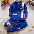 2016 New Autumm Baby Sets Baby Boys Sports Long Sleeved Suit Shirt and Pants Apparel Set Clothing for Baby Kids Boy Clothes