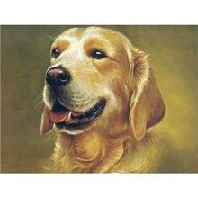 Yikee собака Алмазная картина полная дрель вышивка распродажа