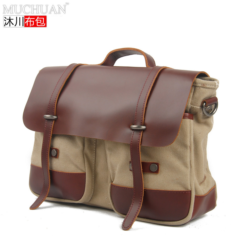 Muchuan Cloth European Restore Ancient Ways Time Single Shoulder Male Package Messenger Briefcase Leather Business Affairs  muchuan cloth 2014 european restore ancient ways trend man single shoulder package diagonal package ma am leisure time package