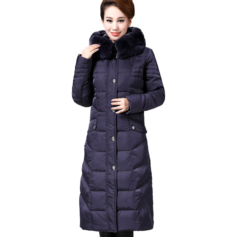 Down Parka 2017 Women Long Coat Parkas Winter Jacket Women Plus ...