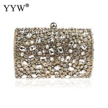 Pochette Femme Silver Evening Bags And Clutches For Women Crystal Clutch Beaded Rhinestone Purse Wedding Party Handbag pochette femme silver evening bags and clutches for women crystal clutch beaded rhinestone purse wedding party handbag