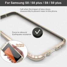 Для samsung S8 S9 Plus бампер чехол LUPHIE противоударный корпус чехол для телефона бампер чехол для samsung Galaxy S9 S8plus металлический чехол