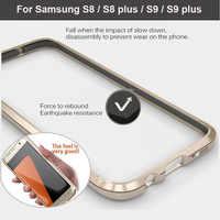 Per Samsung S8 S9 Plus Cassa Del Respingente LUPHIE Antiurto Custodia Cassa Del Telefono Della Copertura Del Respingente Per Samsung Galaxy S9 S8plus metallo coque