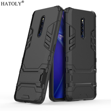 Cover Vivo X27 Pro Case Rubber Robot Armor PC Shell Protective Hard Back for Phone