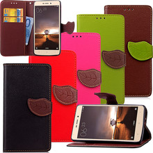 Elegant Leaf Design PU leather Wallet Case For xiaomi redmi 3 case Wallet Card Holder stand Flip Mobile Phone Bags cover