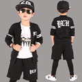 Children clothes teenage Boys Suits Clothing Big Boy Sports three sets Kids sports handsome Spring Autumn Clothes Tracksuits