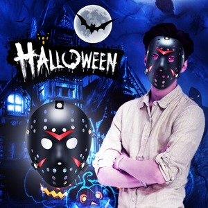 Halloween Costume Mask Jason M