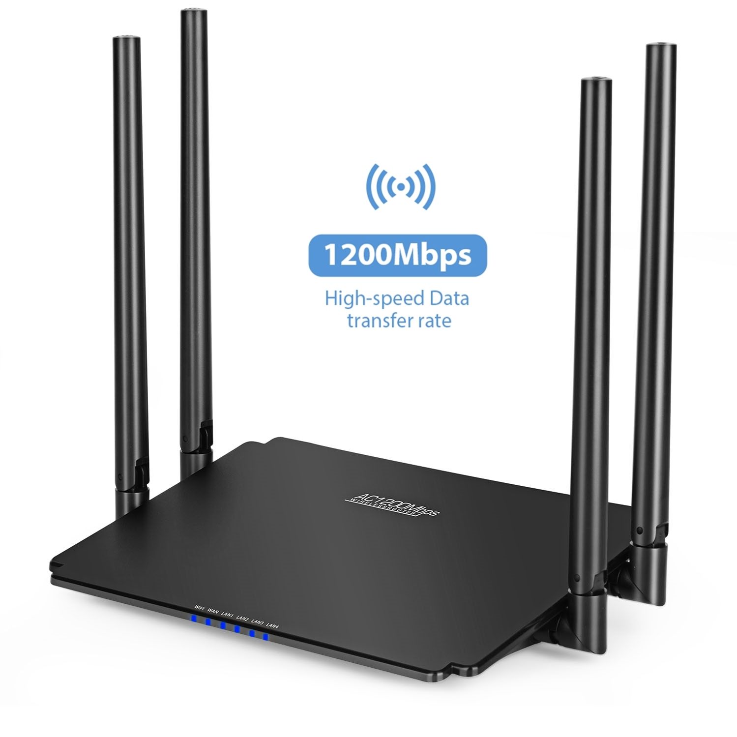 iMice Wifi Router 1200Mbps 2.4G 5G Wireless Router High Speed Dual Band wifi Repeater Access Point Smart APP Control WiFi Router