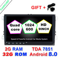 Car DVD Player Radio Gps Stereo Multimedias PC 9 Inch Android 6 0 2G 16G In