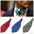 Camisetas de Hombre de moda Bufandas Ceñíos Patrones Geométricos Bufanda Longitud 112 CM La más amplia 15 CM Corbata Ascot para más suave