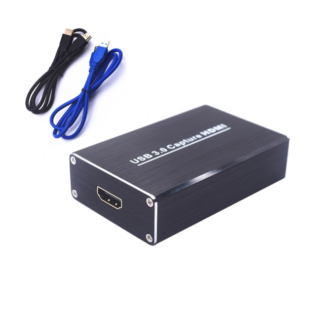 Video Capture USB 3 0 HDMI 1080P 60 FPS Drive Free Card Box for Windows  Linux Os X System