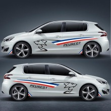TAIYAO car styling sport sticker accessories for PEUGEOT 308S Both Side Sticker Car-styling