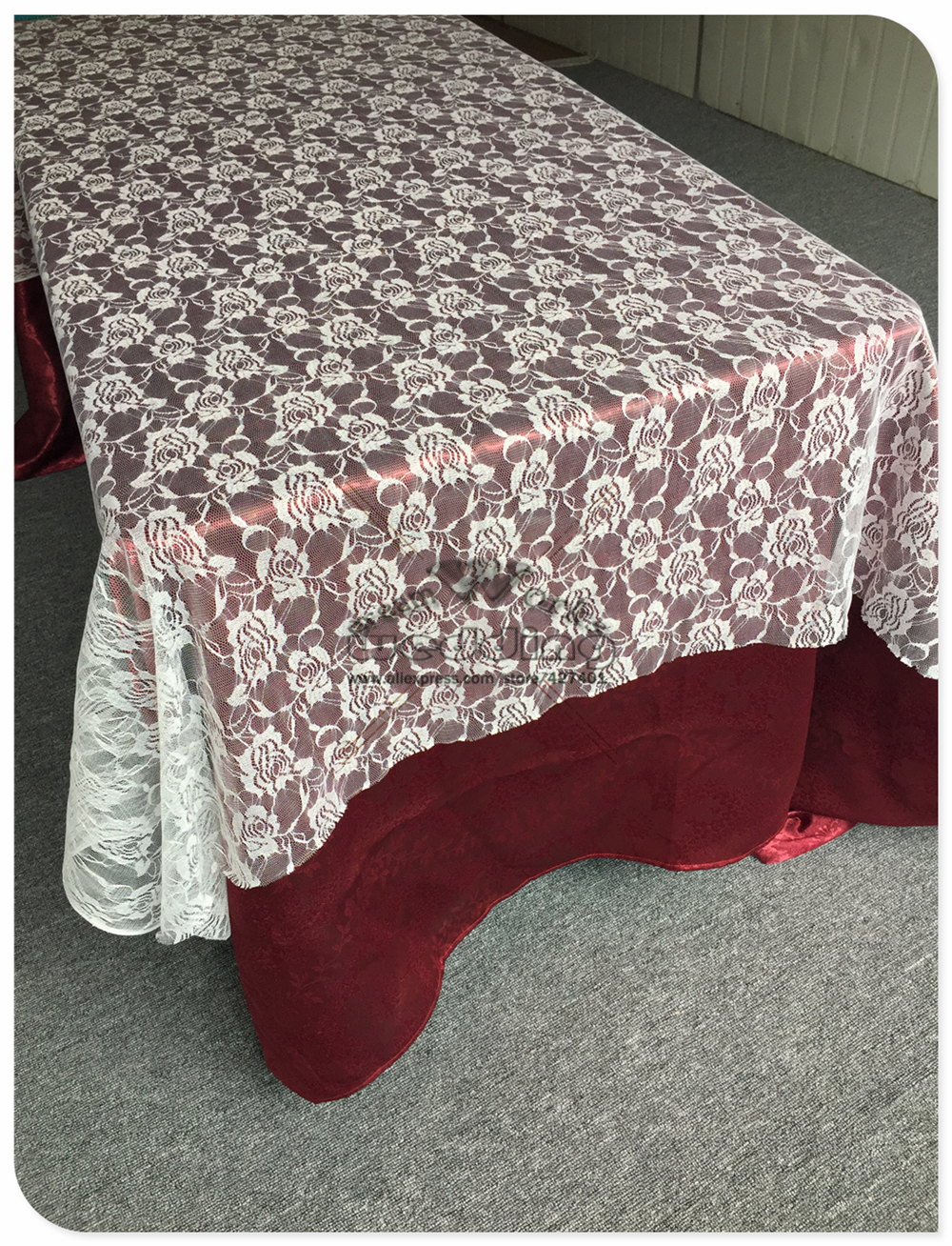 2017 NEW White Lace Table Cloth Rectangular Tablecloths For Wedding Banquet Hotel Table Covers Party Supplies Home Textile & 2017 NEW White Lace Table Cloth Rectangular Tablecloths For Wedding ...