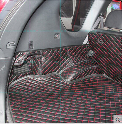 Image 4 - High quality Good quality Special trunk mats for Nissan X trail T31 5seats 2013 2007 waterproof boot carpets for XTRAIL 2011