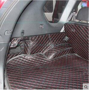 Image 4 - Hoge kwaliteit Goede kwaliteit Speciale kofferbak matten voor Nissan X trail T31 5 zetels 2013 2007 waterdichte laars tapijten voor XTRAIL 2011