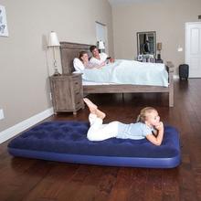 67000 185*76*22 см стекающийся надувной матрас надувная кровать для кемпинга надувной матрас кемпинг кровать пляжный коврик с электрическим насосом