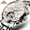 AESOP Dress Watch Men Automatic Mechanical Wrist Wristwatch Stainless Steel Male Clock Relogio Masculino Complete Calendar