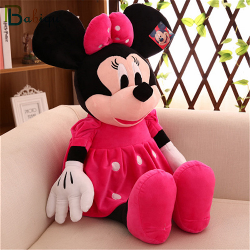 Babiqu 1pc 50cm Hot Cute Stuffed Mickey Mouse And Minnie Mouse Cartoon Plush Toys Soft Animal Dolls Classic Children S Gifts Stuffed Mickey Mouse Mickey Mouseminnie Mouse Aliexpress