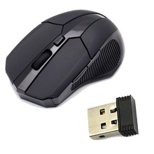 Новый Беспроводной USB оптическая мышь 2.4 ГГц 1600 до 2000 Точек на дюйм мышь с USB 2.0, приемник для портативных ПК ноутбук Настольный компьютер