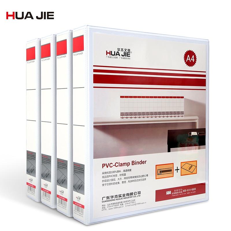 Paperboard Loose-leaf Document Folder 2/3/4 Holes A4 File Clip Holder Storage Bag File Storage School Office Supplies H2502D