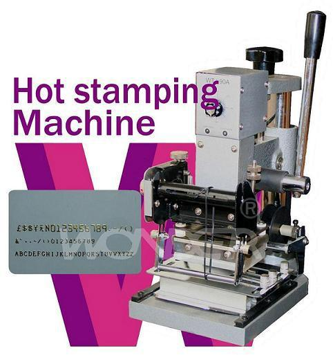 wholesale Lowest price -110V/220V  Manual Hot Foil Metal Stamping Machine,Hot Press Golden Stamping Machine  WTJ-90A high quality lowest price wholesale kz 19 pneumatic combination steel metal strapping packing machine for 19mm steel strap tape