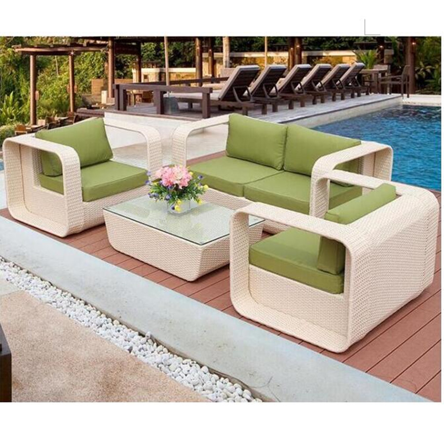 Rattan Garden Sofa Furniture