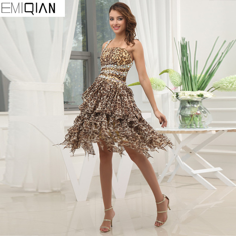 Homecoming Dresses Cheap Sleeveless Unique Design One Shoulder A ...