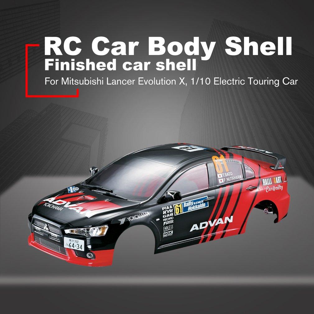 Killerbody RC voiture carrosserie cadre Kit pour Mitsubishi Lancer Evolution X 1/10 voiture de tourisme électrique RC voiture Shell bricolage pièces