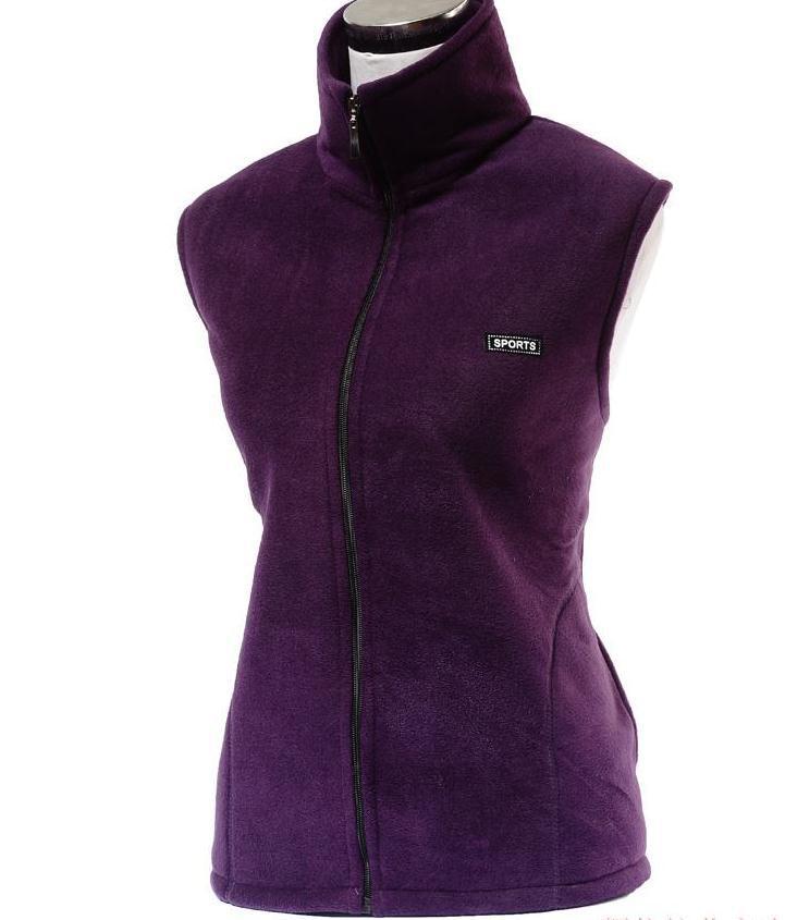 Horký! Jaro / podzim Módní bunda bez rukávů s kapucí na vestu Plus velikost XL-XXXXL Zhuštění dámské zimní vesty