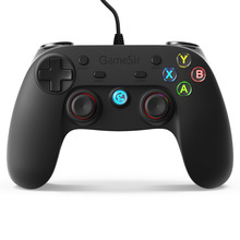 GameSir G3w Gamepad- Mando con Cable de Vibración Doble, Conectado por Cable para PC (Windows 7/8/10) & PS3 & Android (Smartphone / Tableta / Smart TV / TV Box)