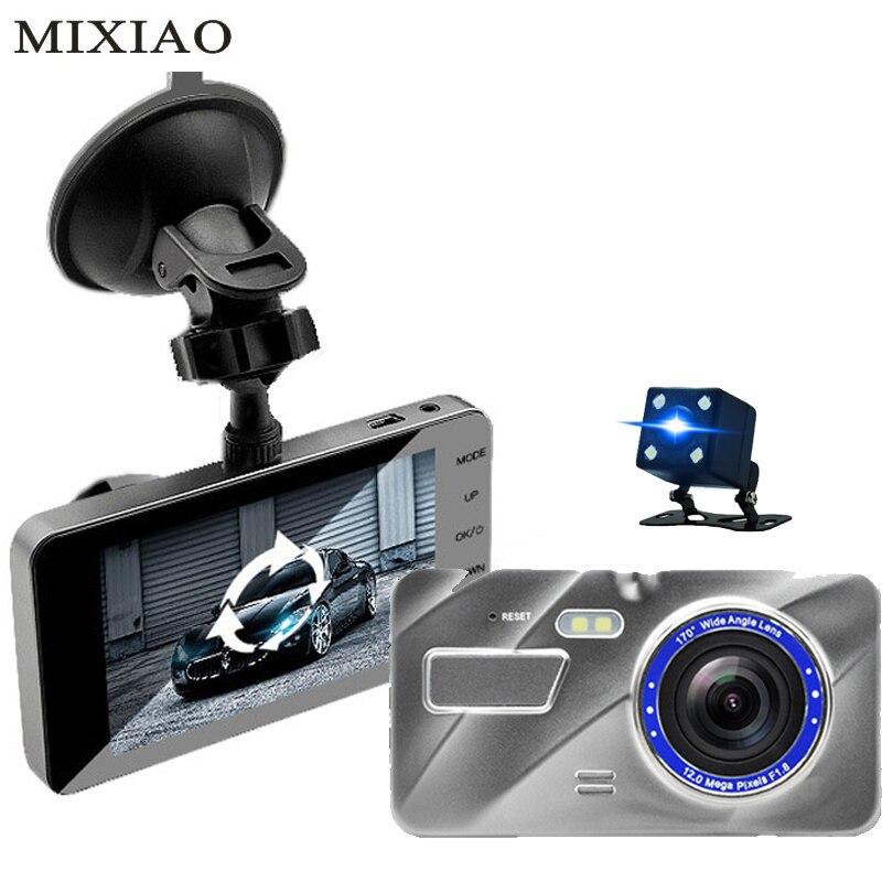 Voiture DVR Voiture Caméra Sur cam Dash Caméra 4.0 Pouce IPS Écran FHD 1080 P Vidéo 170 Degrés Cam Véhicule caméra